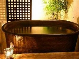 ペンションプリンス:陶器のお風呂
