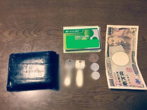 ミニマリスト財布の中身