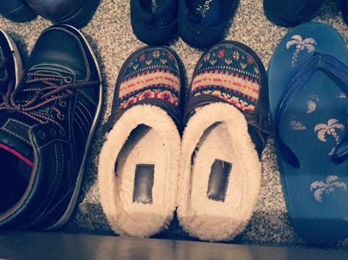 ミニマリスト冬の靴
