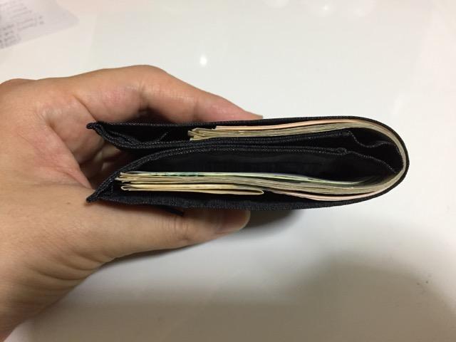 薄い財布 二つ折り レディース(妻)