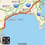 初ロードバイクはお正月休み東京から熱海温泉までトラブル続き!