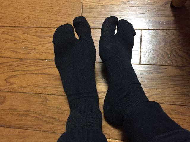 ワークマンで靴下普段ばき