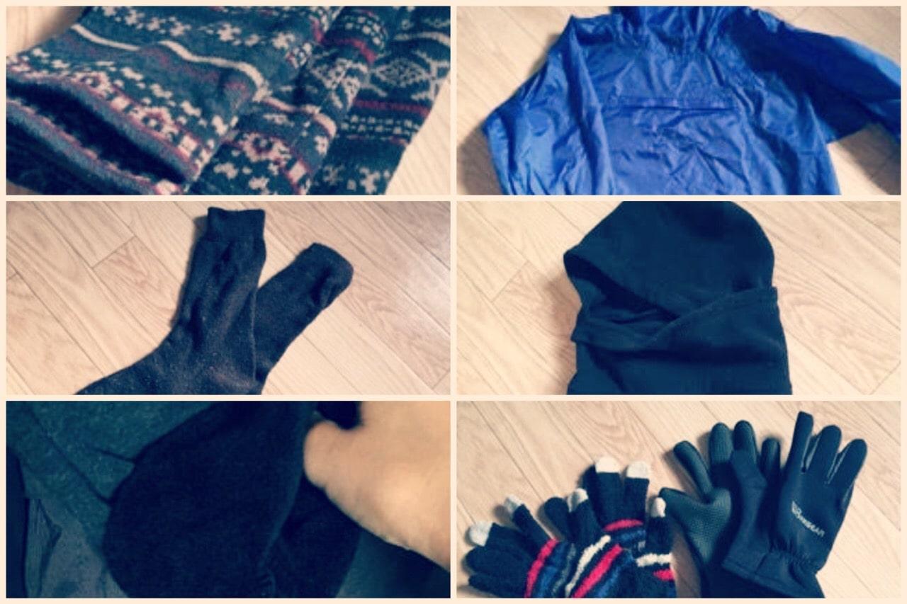 手持ちで!ロードバイク初心者が着た女性服装、気温5~10度冬伊豆