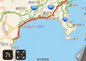 トラブル旅行記!お正月休みは東京から熱海温泉までロードバイク旅行をしました!