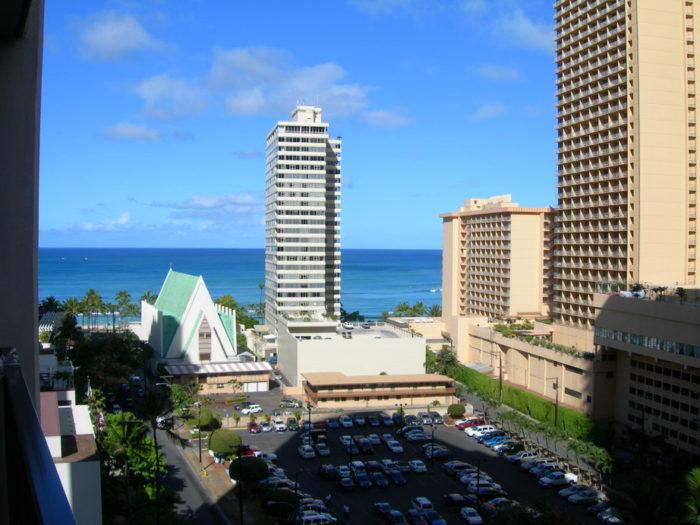 ハワイ一人旅オーシャンビュー