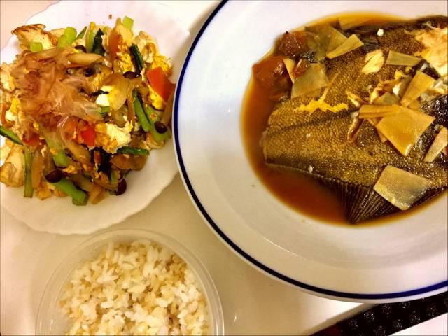 なごみ煮魚の量