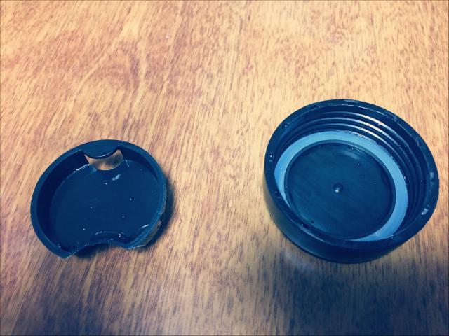 ダイソーパッキン付き水筒