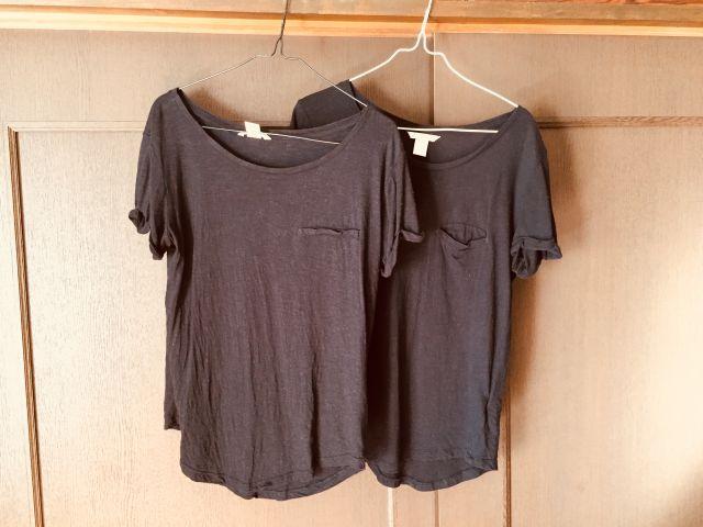 ミニマリストH&MTシャツ