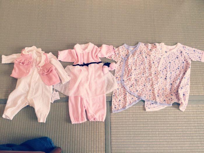 新生児の服の種類