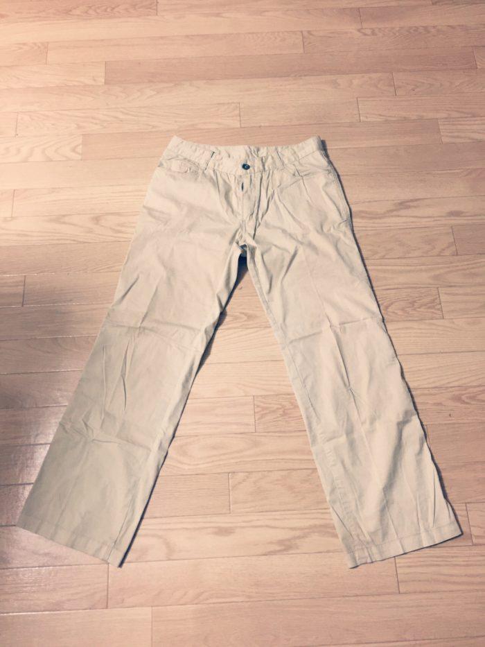 乾きやすいズボン